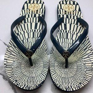 Tory Burch Flip Flops size 8